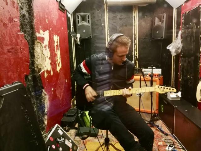 Gitarrenaufnahmen - Daniel