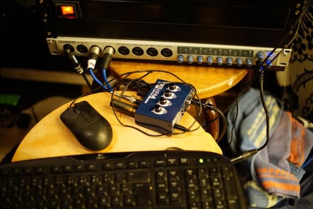 Gitarrenaufnahmen - Studio Engineering Station