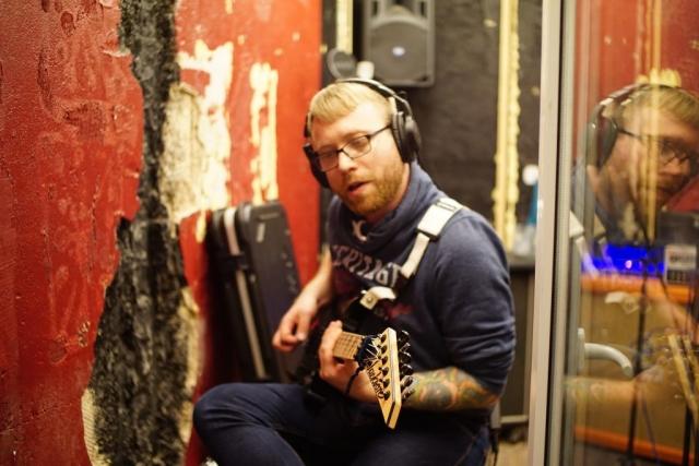 Gitarrenaufnahmen - Sascha